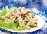 Салат с сухариками «Праздничный»