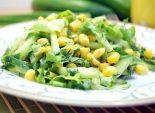 Салат с огурцом и кукурузой «Лаура»