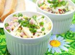 Салат с капустой и колбасой «Эрика»