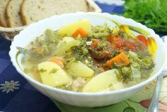 рецепты супов гороховый на курином бульоне