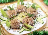 Салат с кальмарами «Шарманка»