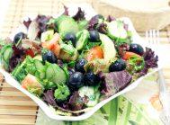 Летний салат из свежих овощей