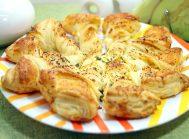 Пирог «Завитушка» с сыром и зеленью