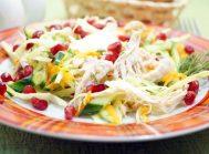 Вкусный салат с курицей «Марта»