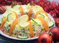 Салат с курицей «Праздничное оливье». Пошаговый кулинарный рецепт с фотографиями приготовления праздничного салата Оливье с курицей на новогодний стол.