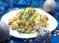 Салат от куриной грудкой