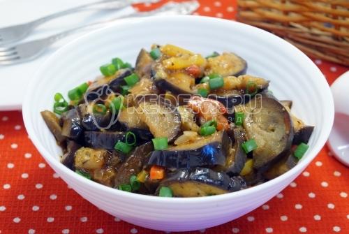 Баклажаны на сковороде - рецепт