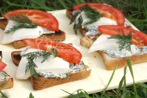 Бутерброды для пикника - рецепт