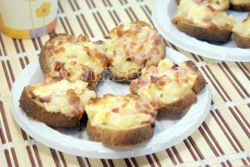 Бутерброды «Гавайские» - рецепт