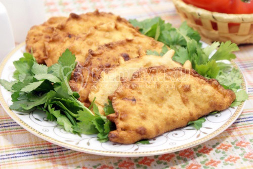 Чебуреки с мясом - рецепт