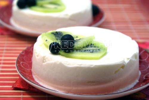 Десерт из мороженого «Для любимой» - рецепт