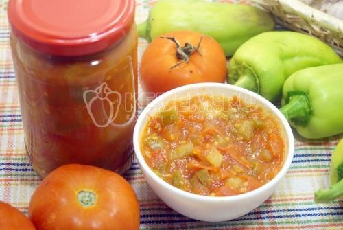Домашний кетчуп «Лечо»
