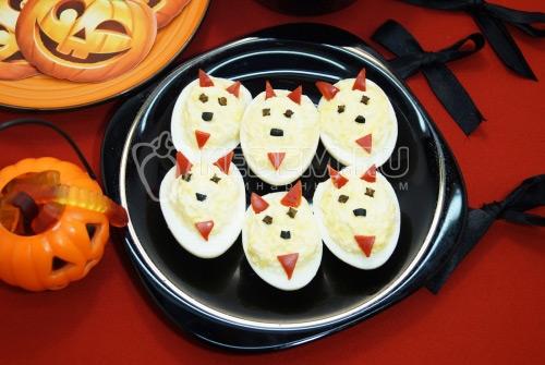 Фаршированные яйца Дьяволята