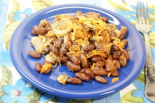 фасоль с грибами рецепты приготовления с фото