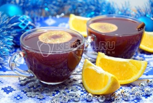 Глинтвейн с апельсином - рецепт