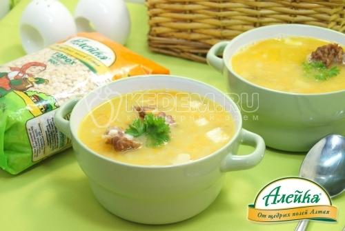 Гороховый суп с копченостями - рецепт