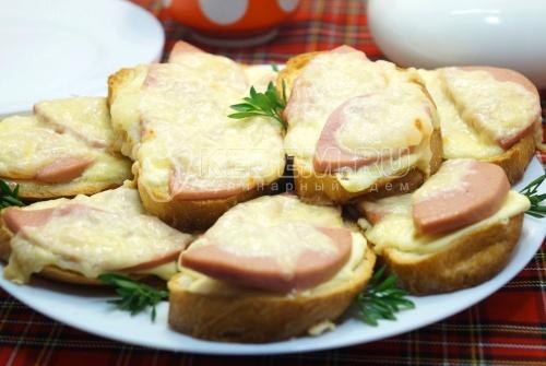 Горячие бутерброды в духовке