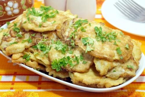Кабачки на сковороде - рецепт