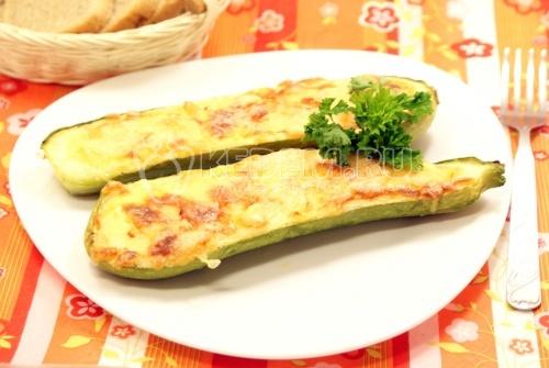 Кабачки с сыром - рецепт