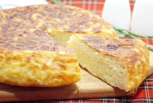 Картофельная запеканка с сыром в мультиварке - рецепт