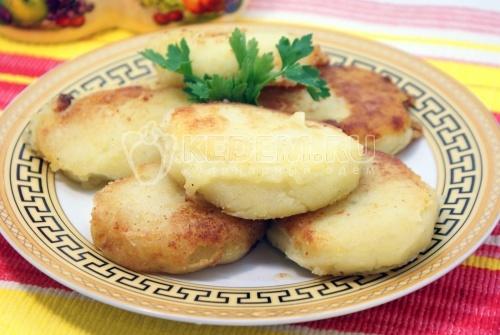 Картофельные котлеты - рецепт