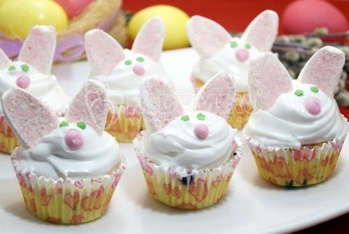 Кексы Пасхальные кролики