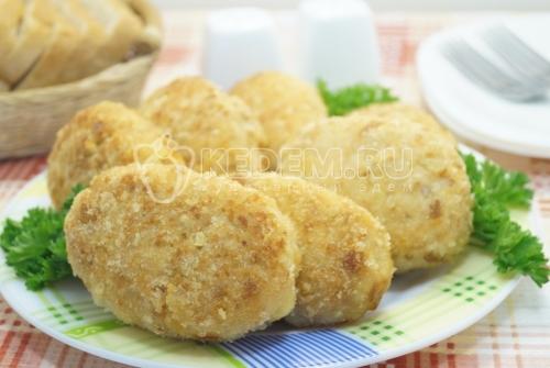 Котлеты из куриного филе