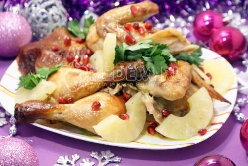 Курица на Новый год