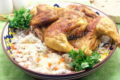 Курица запеченная По-восточному