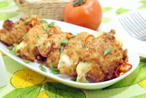 Куриное филе с сыром - рецепт