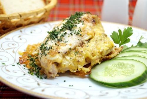 Куриное филе в духовке «Ксантия» - рецепт