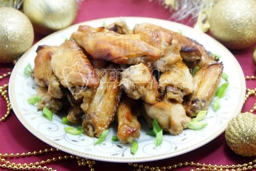 Куриные крылышки Медовые