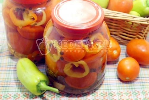 Маринованные помидоры с лимонной кислотой