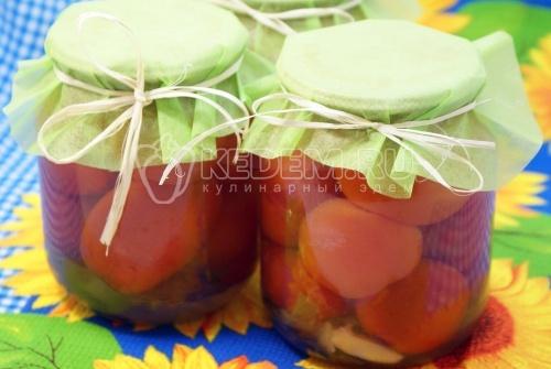 Маринованные помидоры сладко-острые - рецепт