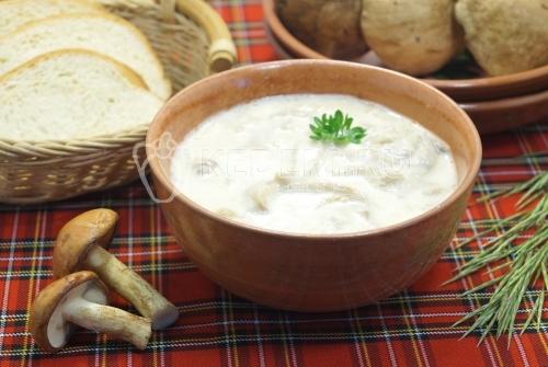 Маслята жареные со сметаной - рецепт