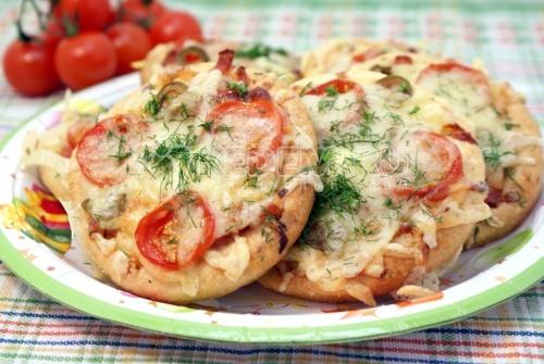 Мини-пиццы - рецепт