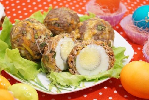 Мясные зразы с яйцом - рецепт