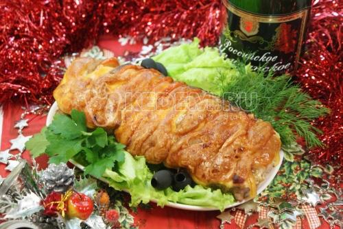 Новогодний мясной пир