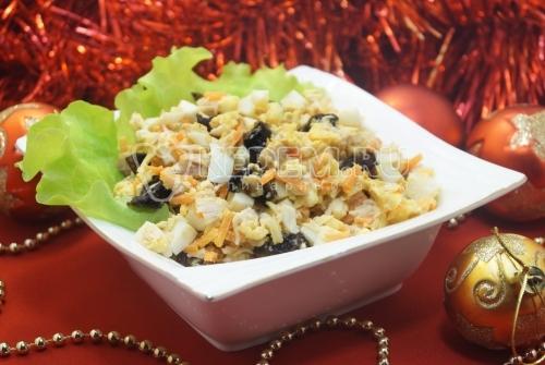 Новогодний салат Фейерверк