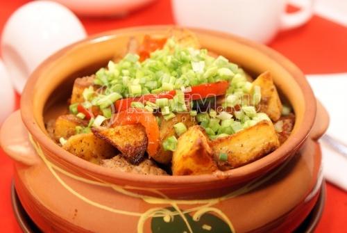 Оджахури из свинины - рецепт