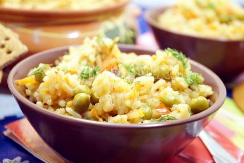 Овощной плов - рецепт