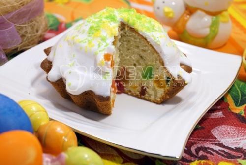 Пасхальные кексы с цукатами