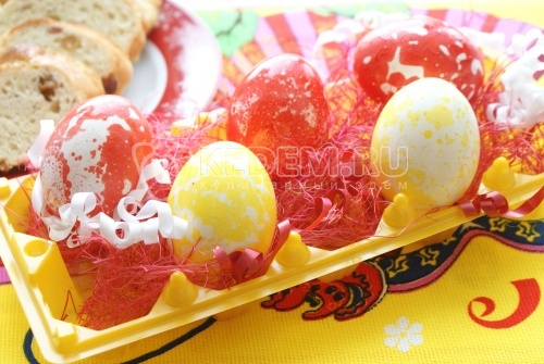 Пасхальные яйца Масленые