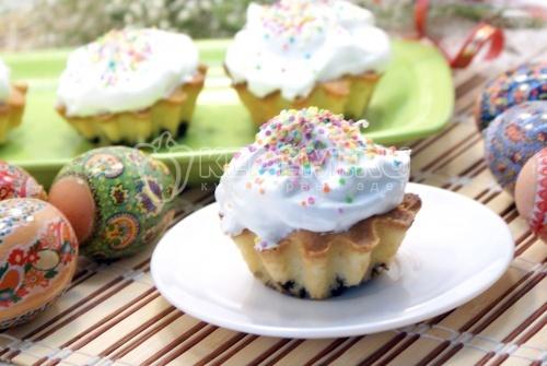 Пасхальные кексики «Неженки» - рецепт