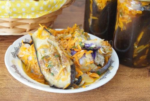 Печеные баклажаны на зиму «Обалденные» - рецепт