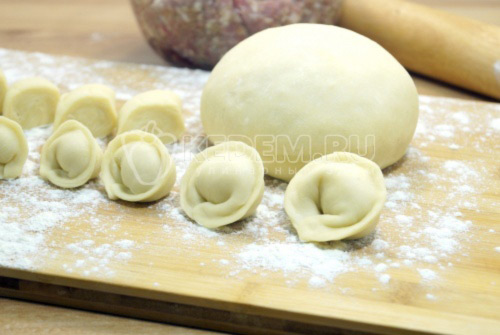 Пельменное тесто - рецепт