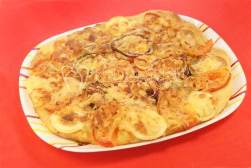 "Пицца ""Домашняя"" – кулинарный рецепт"