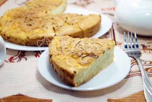 Пирог с капустой - рецепт