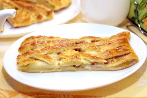 Пирог с яблоками - рецепт