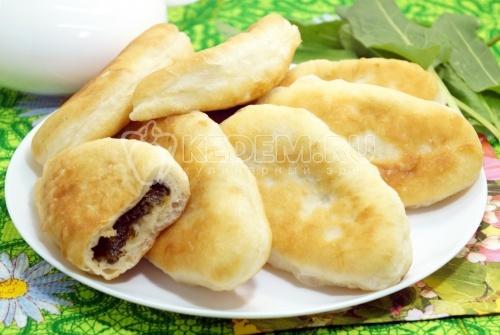 Пирожки со щавелем - рецепт